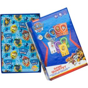 Psi Paw Patrol karty do gry kwartet
